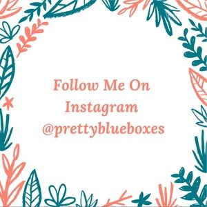 Follow me on Instagram @prettyblueboxes